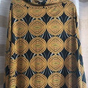 Azure skirt Lularoe